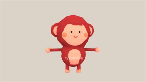 new year monkey gif tykcartoon 2016 new year greeting animation 3d