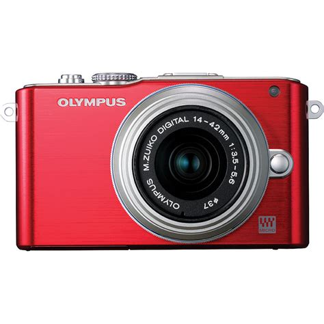 Kamera Mirrorless Olympus Pen Lite E Pl3 olympus e pl3 mirrorless micro four thirds digital v205031ru000
