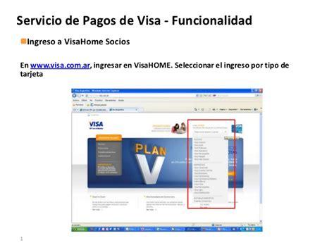 visa home socios servicio de pagos visa funcionalidad en visa home socios