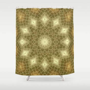 Brown And Gold Shower Curtains Gold And Brown Shower Curtain By Lena From Society6 Shower