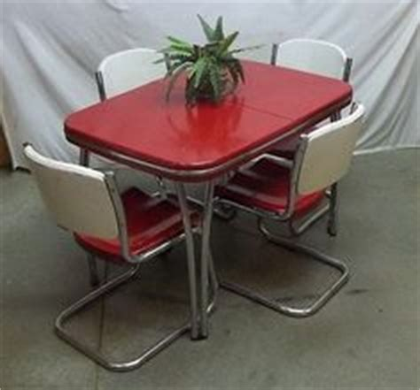 50s metal kitchen table and chairs chrome kitchen dinette table and chairs on