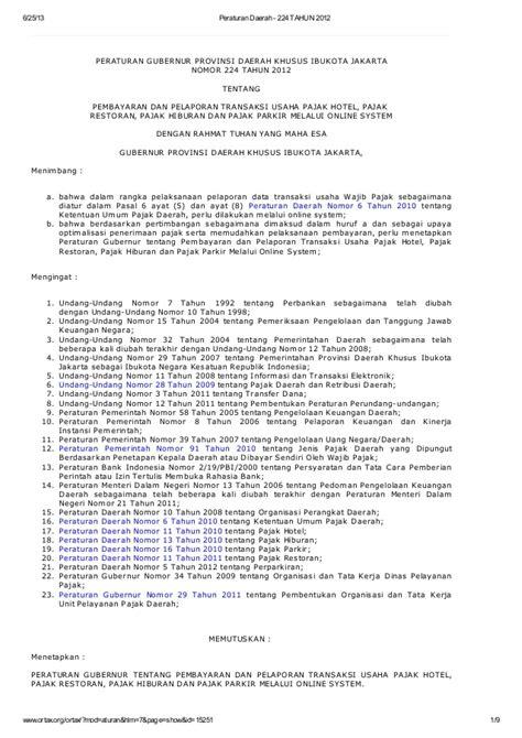 Pajak Diberagam Sektor Usaha 1 digital version pembayaran dan pelaporan transaksi usaha pajak hotel