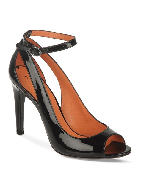 high heel pumps with ankle straps via spiga ankle open toe pumps rochelle high heel in