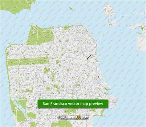 san francisco map high resolution san francisco vector city map a high resolution scalable
