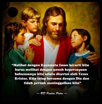 kata bijak rohani katolik terbaik  terlengkap