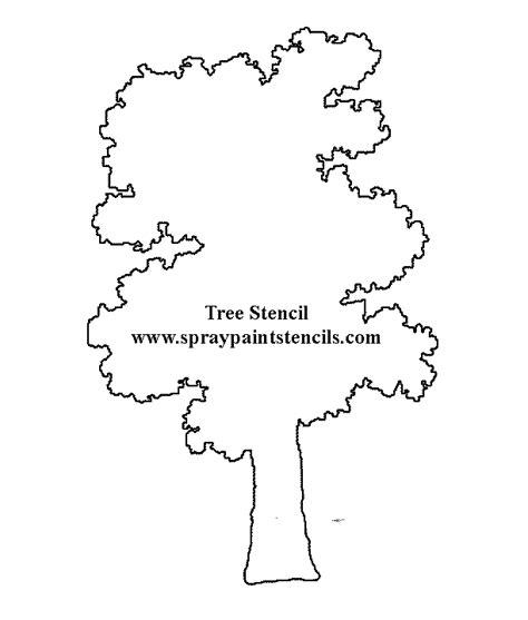 tree stencil tree stencils