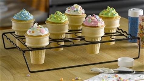 Cupcake Cone Baking Rack by Cones Archives Baking Bites