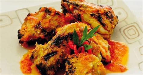 Panggangan Ayam Bakar resep masakan indonesia resep ayam bakar bumbu kencur