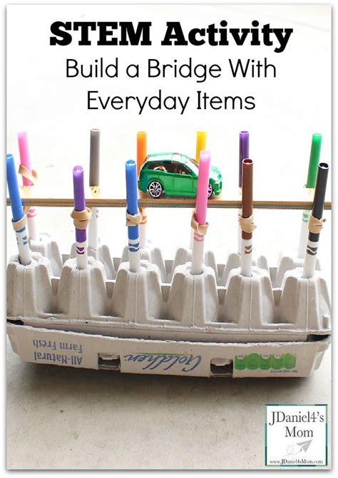 build a bridge science activity for kids bridge designs stem activity build a bridge with everyday items bridge