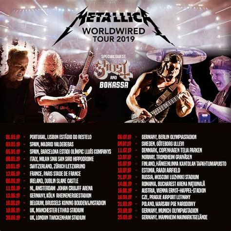 metallica june 2019 reflections of darkness music magazine preview