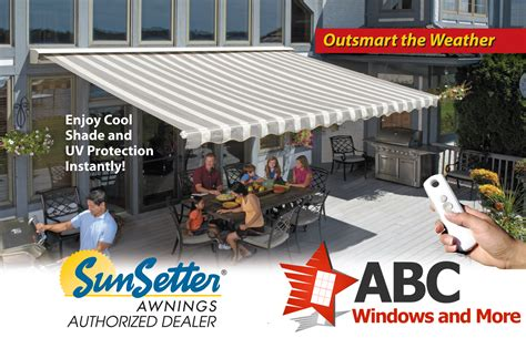 Sunsetters Retractable Awnings by Motorized Retractable Awnings