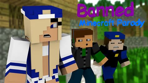 minecraft song banned quot minecraft animated music parody of miley cyrus