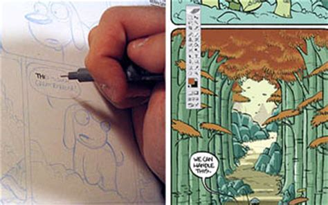 How To Make A Comic Book Out Of Paper - make a comic guide comic books creation comics