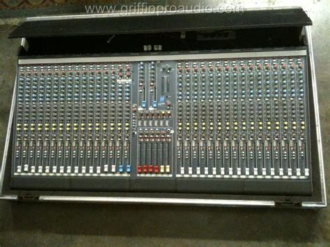 allen and heath console allen and heath gl2200 mixing console with flight ebay