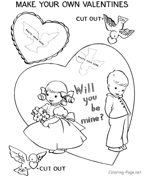 valentine coloring page pdf 23 free valentine s day printables pdf