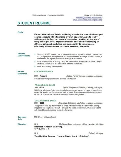 How To Create A Student Resume Tomyumtumweb Com How To Design Your Own Resume Template