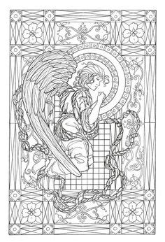 coloring pages  print angels images coloring