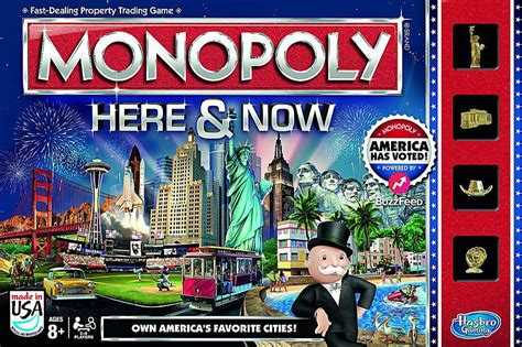 here and now 7online monopoly here now u s board game changes