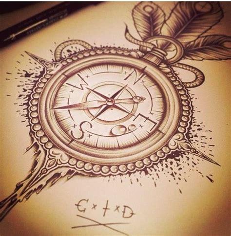 compass tattoo side 30 best compass tattoos designs and ideas designlint