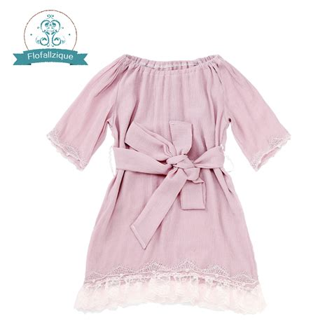 Baby Lovely Lace Dress flofallzique baby dress 2017 brand children dress princess costumes casual lovely lace