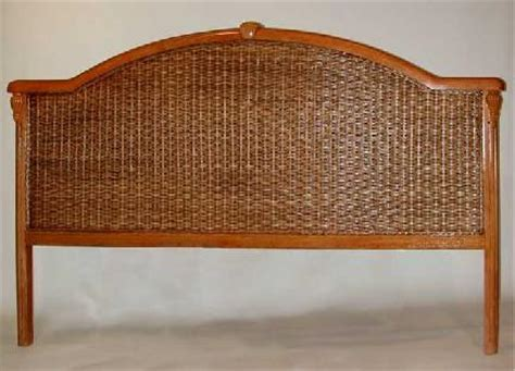 king rattan headboard wicker headboard twin queen king wicker headboards
