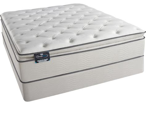 king bed pillow top simmons beautysleep titus pillow top king size mattress