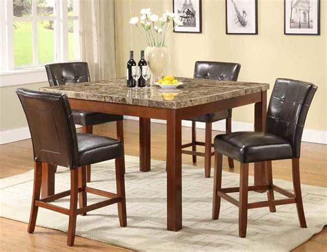 bar height dining room tables counter height dining room table sets
