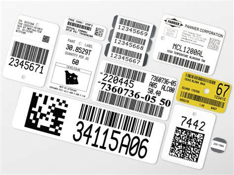 printable metal tags printed bar code metal tags pannier corporation