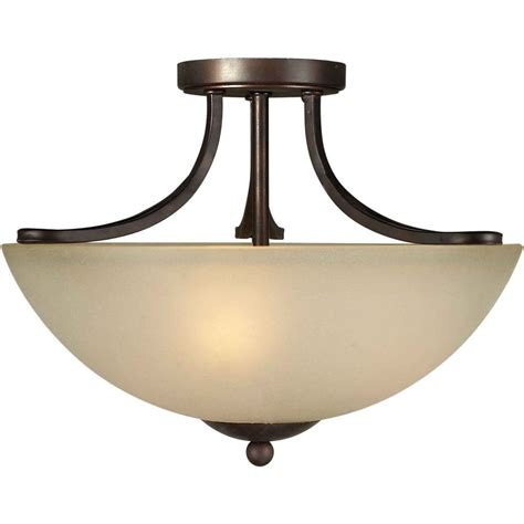vintage semi flush ceiling lights filament design burton 3 light ceiling antique bronze
