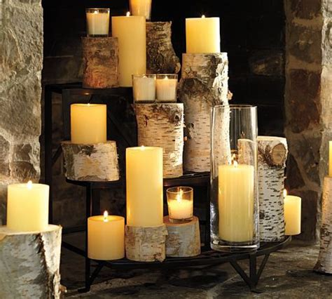 Candle Fireplace Logs by Non Working Fireplace Oh The Possibilities Picklee
