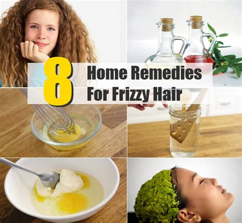 top 8 home remedies for frizzy hair diy home things