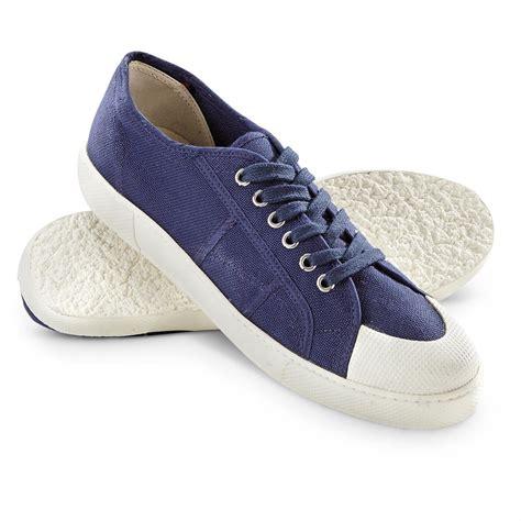 no slip sneakers new s italian marine surplus deck shoes no slip sole