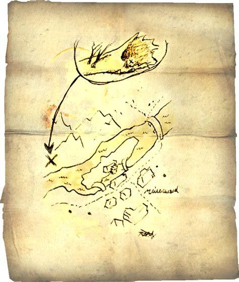 treasure maps skyrim elder scrolls fandom powered by