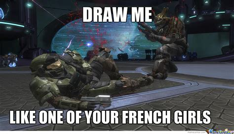 Master Chief Meme - master chief wants to be on a painting by mapa112 meme