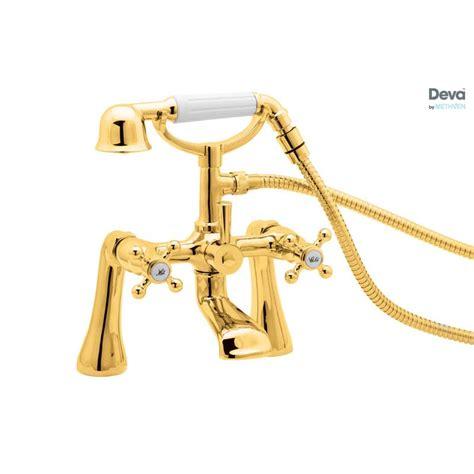 gold bath shower mixer taps tudor gold bath shower mixer