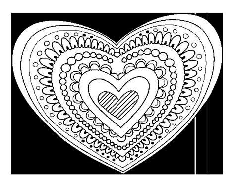 imagenes mandalas de corazones dibujo de mandala coraz 243 n para colorear dibujos net