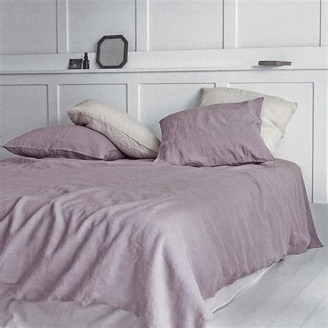 dusty rose bedding dusty rose washed linen duvet cover by rowen wren