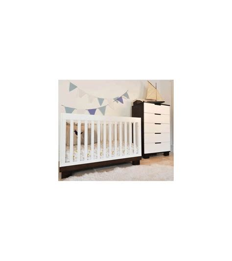Babyletto Modo 3 In 1 Convertible Crib With Toddler Rail Babyletto Modo 3 In 1 Convertible Crib With Toddler Bed Conversion Kit In Espresso White