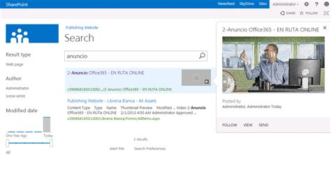 Fast Search Integration Of Fast Search Server In Sharepoint 2013