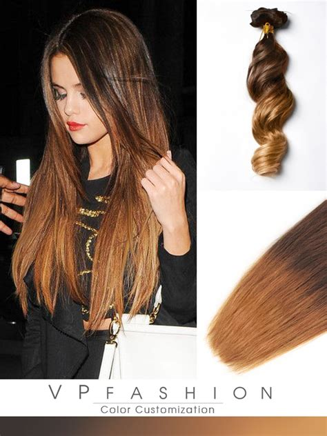 ombre hair extensions in two colors ombre clip in hair extensions m0530a m0530a