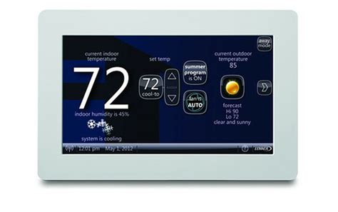Lennox I Comfort by Lennox Icomfort Wi Fi Thermostat Geeks Up A Boring Air