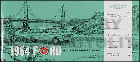 download car manuals 1964 ford galaxie auto manual 1964 ford galaxy manual