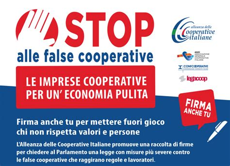 popoff testo basta false cooperative popoff quotidiano