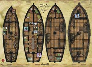 pirate ship floor plan 1000 images about roll20 on pinterest