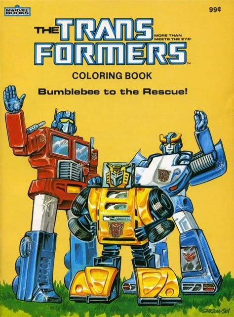 frenzy coloring book for all books bumblebee to the rescue