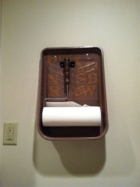 Paper Towel Holder Craft Ideas - interesting paper towel holder cool ideas