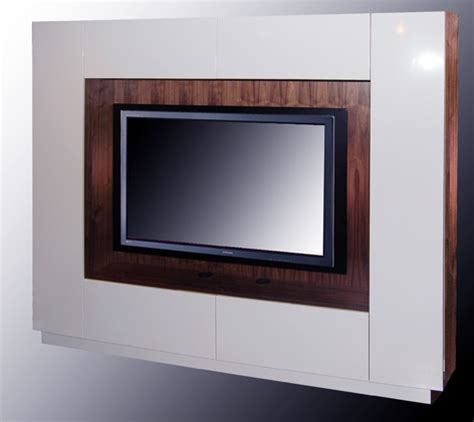 built in LED TV wall unit and AV cabinet