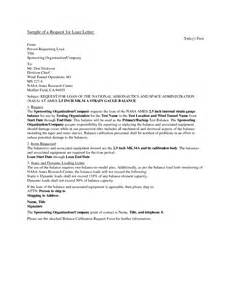 Loan Letter From Company Business Loan Request Letter Free Printable Documents