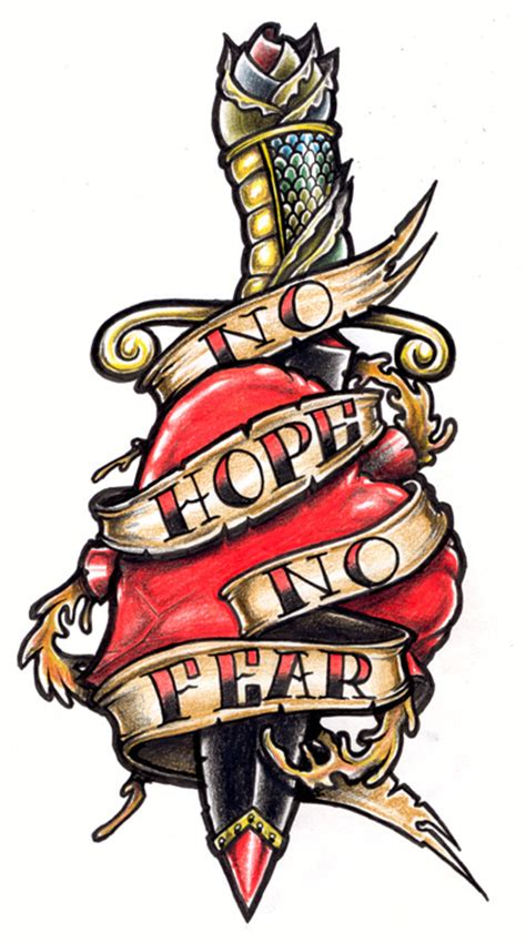 no hope no fear tattoo tatto inside pictures by roy clapp