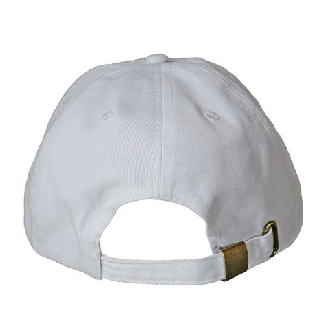 new plain solid washed cotton polo baseball ball cap hat